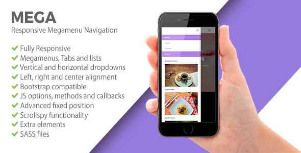 MEGA | Responsive Megamenu Navigation