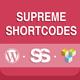 Supreme Shortcodes | WordPress Plugin - CodeCanyon Item for Sale