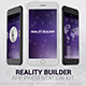 Reality Builder App Presentation Kit - VideoHive Item for Sale