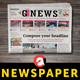Newspaper - GraphicRiver Item for Sale