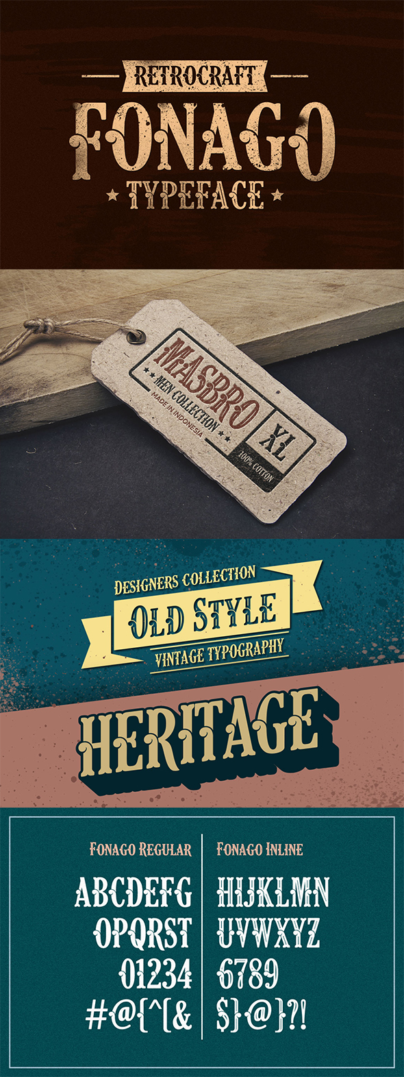 Classic Decorative Fonts from GraphicRiver