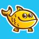 YoFish Logo - GraphicRiver Item for Sale