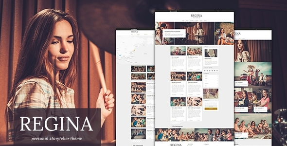 Regina – Creative Blog WordPress