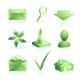 Green symbols - GraphicRiver Item for Sale