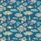 Magic Sea Life Vector Pattern - GraphicRiver Item for Sale