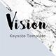 Vision Minimal Keynote Template - GraphicRiver Item for Sale