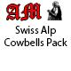 Swiss Alp Cowbells Pack