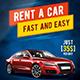 Rent a car flyer A4 - GraphicRiver Item for Sale