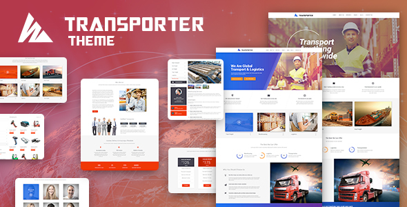 Transportation & Logistics WordPress Theme