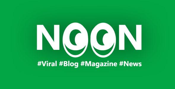 Noon - Crisply Made Ad Friendly WordPress Magazine Theme