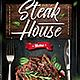 Steak Menu Flyer - GraphicRiver Item for Sale