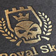 Royal Skull Logo Template - GraphicRiver Item for Sale