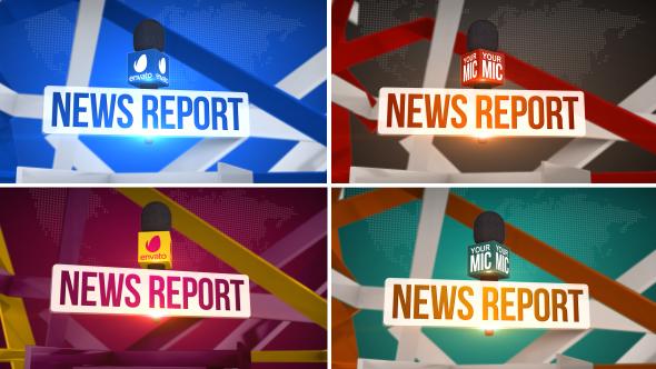 News Report - News Politics Show Opener