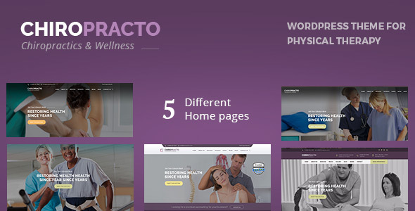 Chiropracto - Physical Therapy WordPress Theme