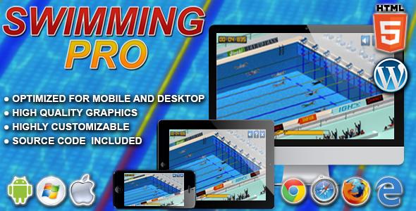 Pływanie Pro - gra sportowa HTML5