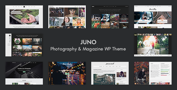 Juno – Photography & Magazine WP Theme