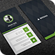 Dark Vertical Business Card - GraphicRiver Item for Sale
