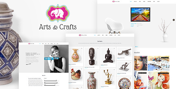 Arts & Crafts WordPress