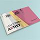 Brochure Makeup Artist landscape A5 - GraphicRiver Item for Sale