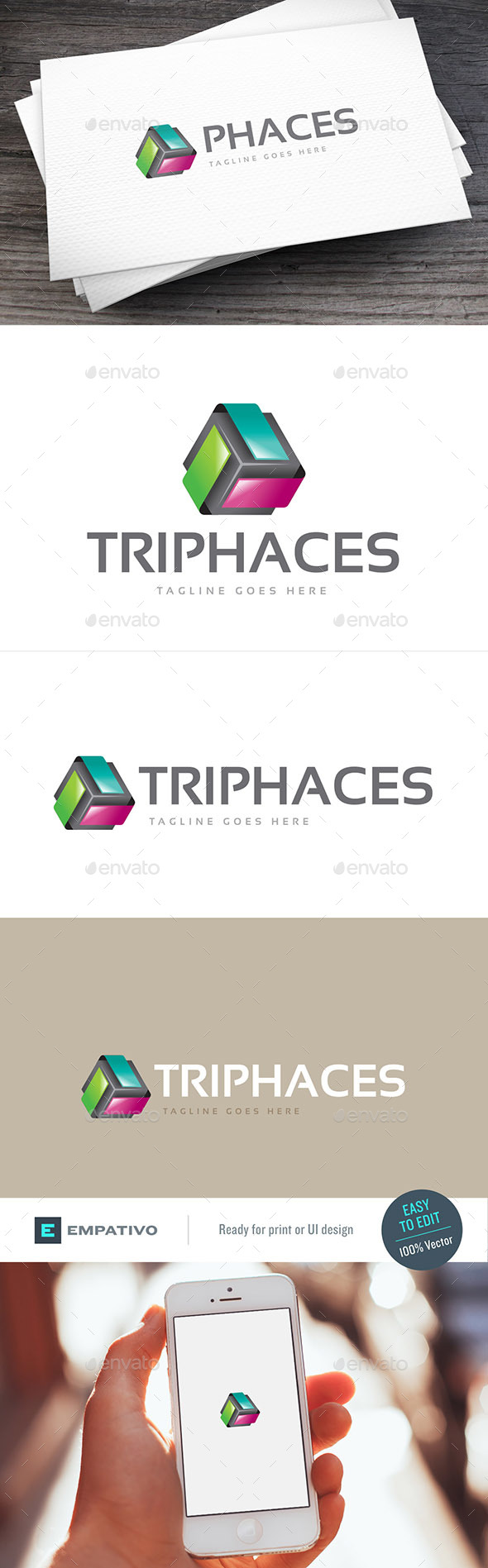 Triphaces Logo Template