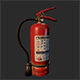 Dusty Scratched Fire Extinguisher - 3DOcean Item for Sale