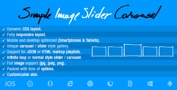 Simple Image  Slider Carousel