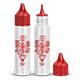 All Unicorn Dropper Bottles Mock-up v.4 - GraphicRiver Item for Sale