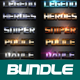 40 Mix Bundle Text Effect Styles V02 - GraphicRiver Item for Sale
