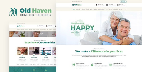 Old Haven | Elderly Care WordPress