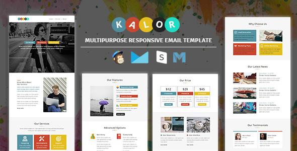 Kalor - Multipurpose Responsive Email Template