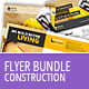 Construction Business Flyer - Bundle - GraphicRiver Item for Sale