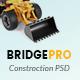 BridgePro | Construction & Building PSD Template - ThemeForest Item for Sale