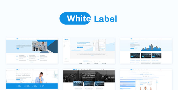 White Label - Business And Company Theme