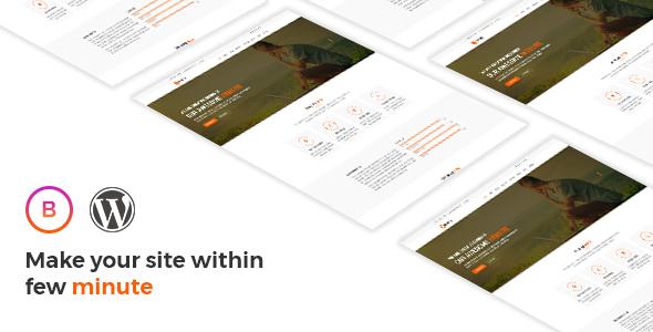 Bravery - Creative  One & Multipurpose WordPress Theme