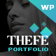 Thefe - Portfolio WordPress Theme - ThemeForest Item for Sale