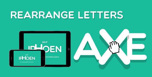 Zmień układ liter - gra HTML5