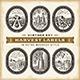 Vintage Harvest Labels Set - GraphicRiver Item for Sale