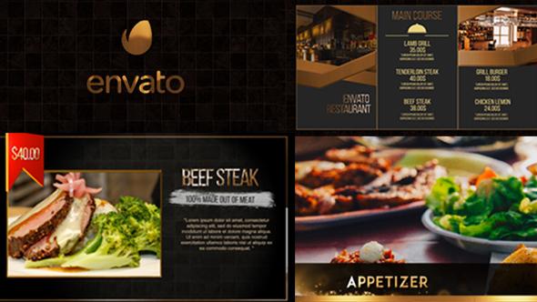 Exclusive Restaurant Digital Menu