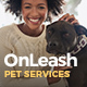 OnLeash | Dog Walking & Pet Services Veterinary WordPress Theme - ThemeForest Item for Sale