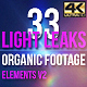 Light Leaks Elements 4K - VideoHive Item for Sale