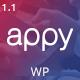appy | App Landing WordPress Theme - ThemeForest Item for Sale
