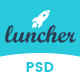 Launcher - Coming Soon PSD Template - ThemeForest Item for Sale
