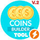 Coins Builder Tool v2 - VideoHive Item for Sale
