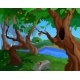Cartoon Summer Background for a Game Art - GraphicRiver Item for Sale