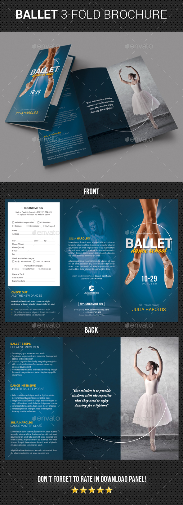 Classical Dance Graphics, Designs & Templates from GraphicRiver