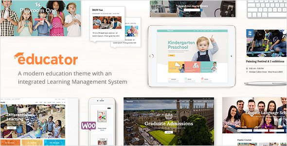 Educator - Education Theme for University & School