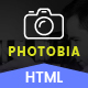 Photobia Photography Portfolio Template - Bootstrap - ThemeForest Item for Sale