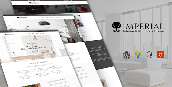Imperial - Interior WordPress Theme