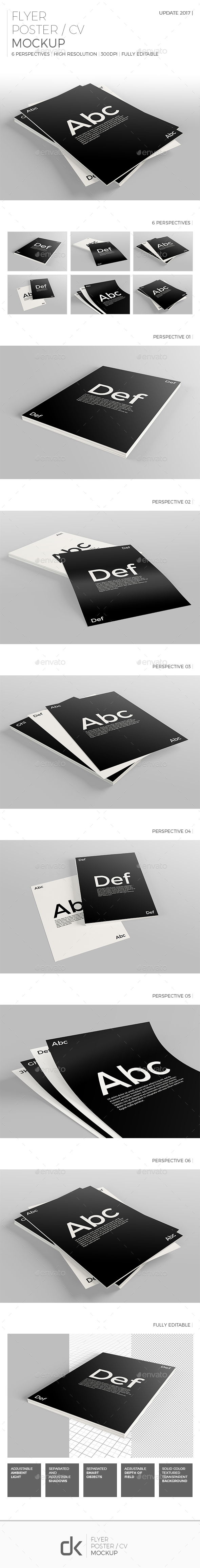 Flyer Mockups From Graphicriver Page 4