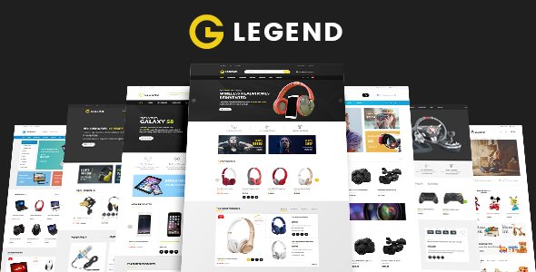 Legend - Electronics & Toy Shop eCommerce HTML Template